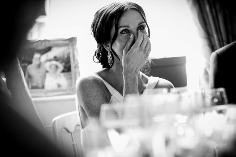 Bridebook.co.uk- bride tearing up