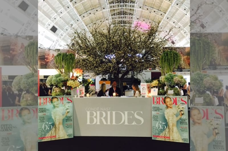 Bridebook.co.uk Brides the show entrance