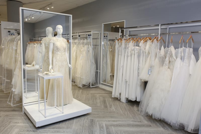 Bridebook.co.uk David's Bridal Birmingham store