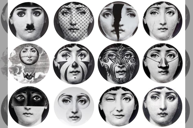 bridebook.co.uk fornasetti plates