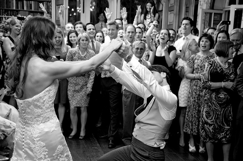 Bridebook.co.uk- bride and groom during first dance