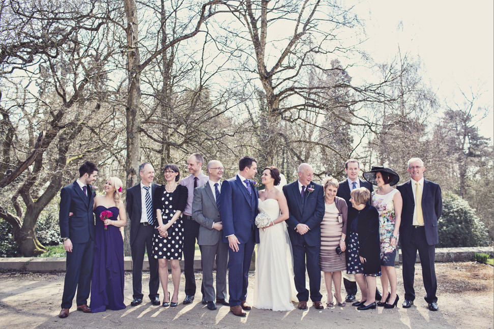 Bridebook.co.uk- bride groom wedding party and families