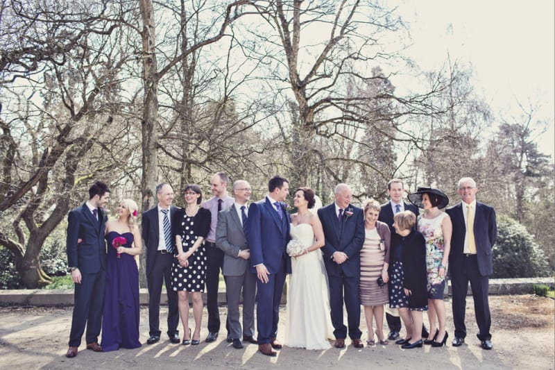 Bridebook.co.uk- bride groom wedding party and families
