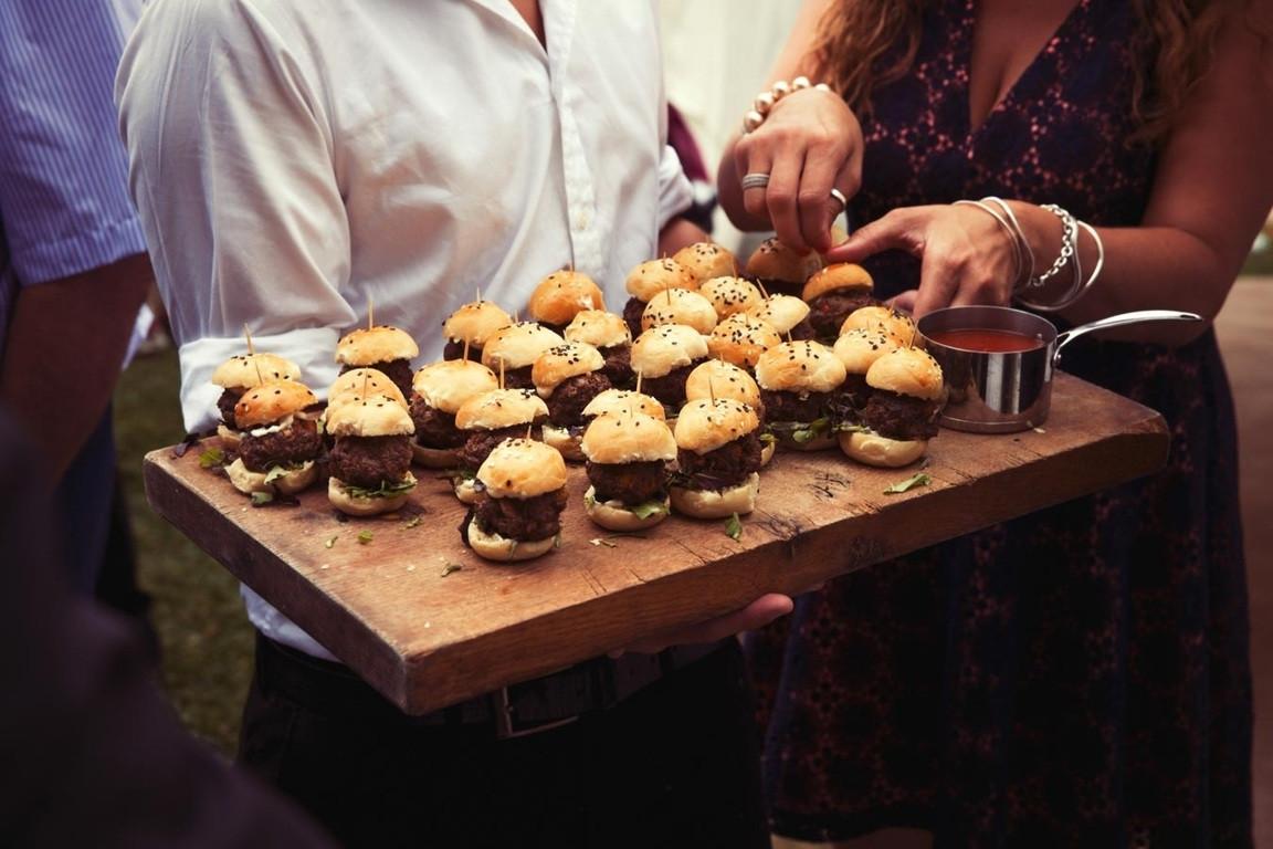 Bridebook.co.uk- mini burger canapes