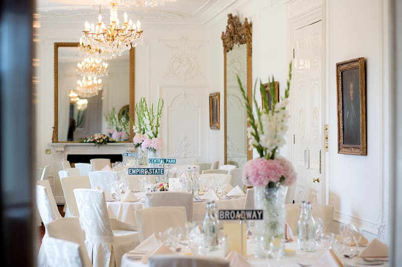 Bridebook.co.uk- New York themed table names