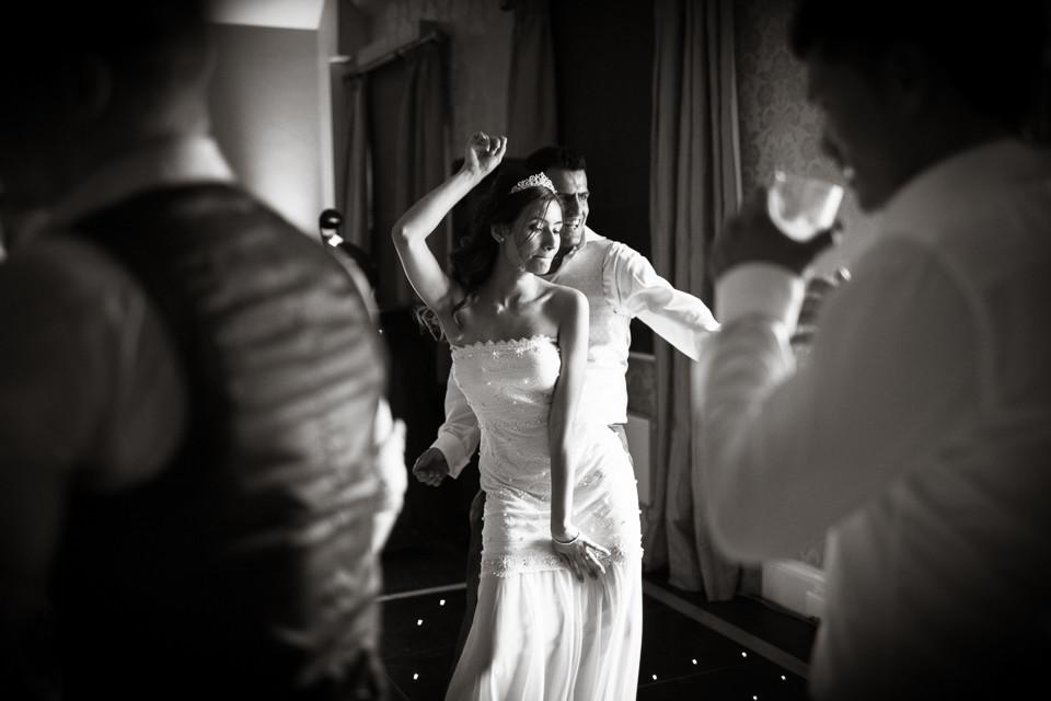 Bridebook.co.uk- bride and groom dancing at wedding reception