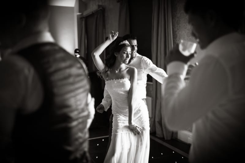 Bridebook.co.uk- bride and groom dancing at wedding reception