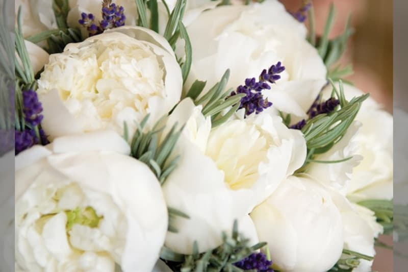 Bridebook.co.uk- white peony bouquet
