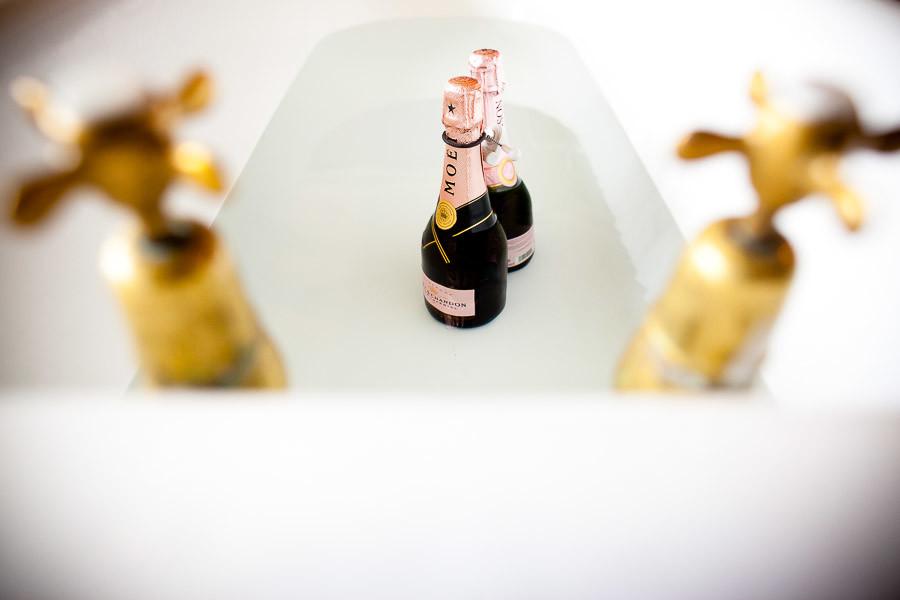 Bridebook.co.uk- moet and chandon bottles in a bath