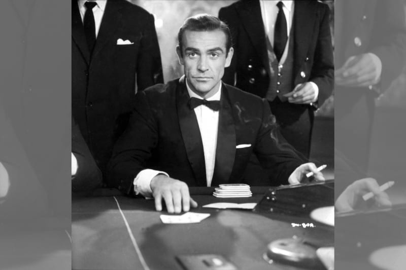 Bridebook.co.uk- sean connery as james bond in a tux