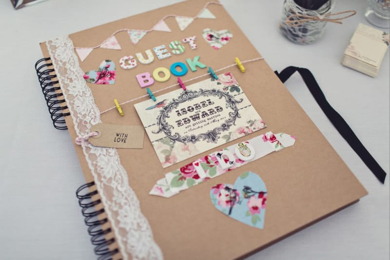Bridebook.co.uk- diy guest book