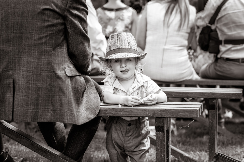 Bridebook.co.uk- little boy guest in a hat