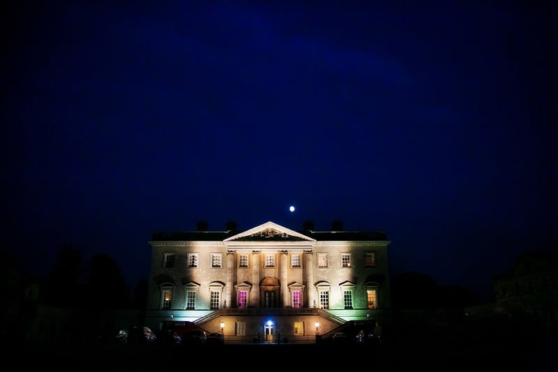 Bridebook.co.uk- Country house venue at night