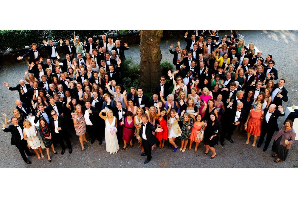 Bridebook.co.uk- entire wedding group shot