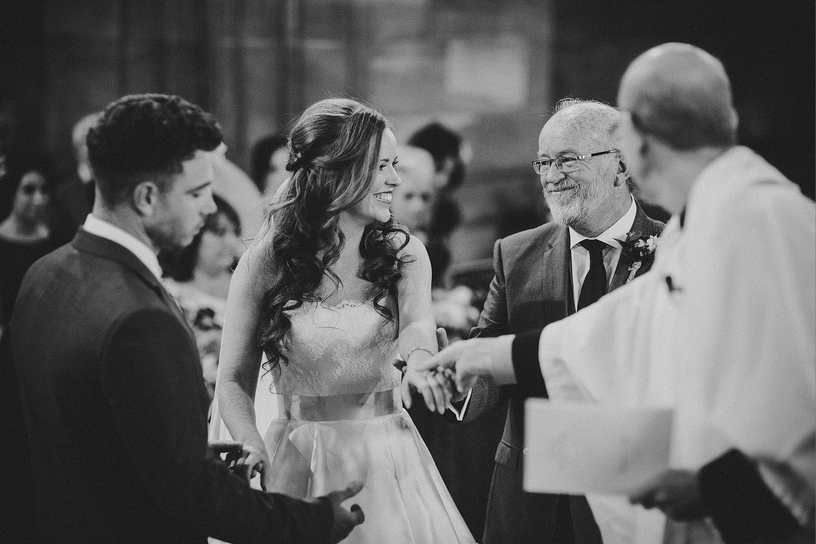 Bridebook.co.uk- father giving away bride