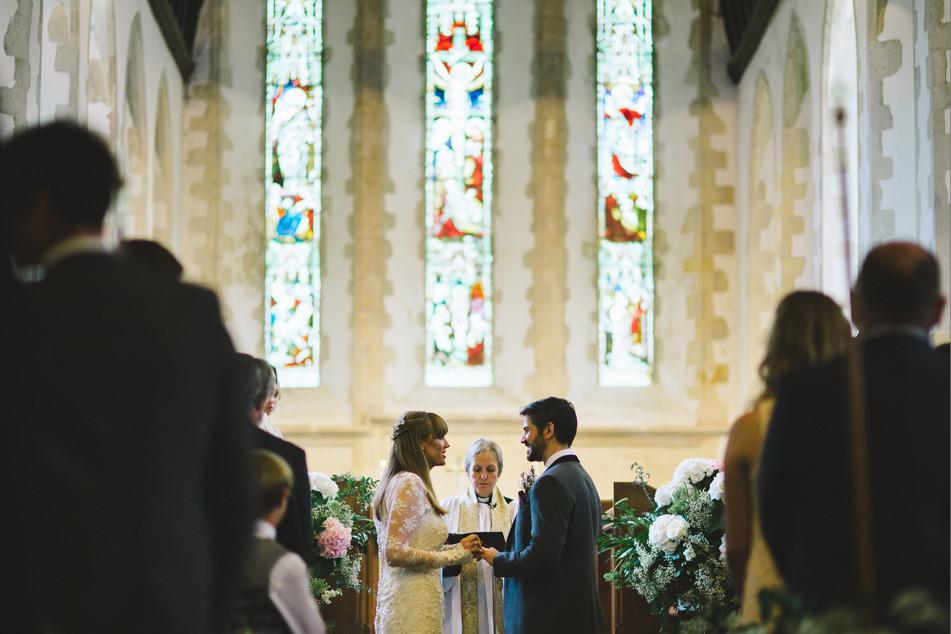 Bridebook.co.uk- bride saying her vows to the groom