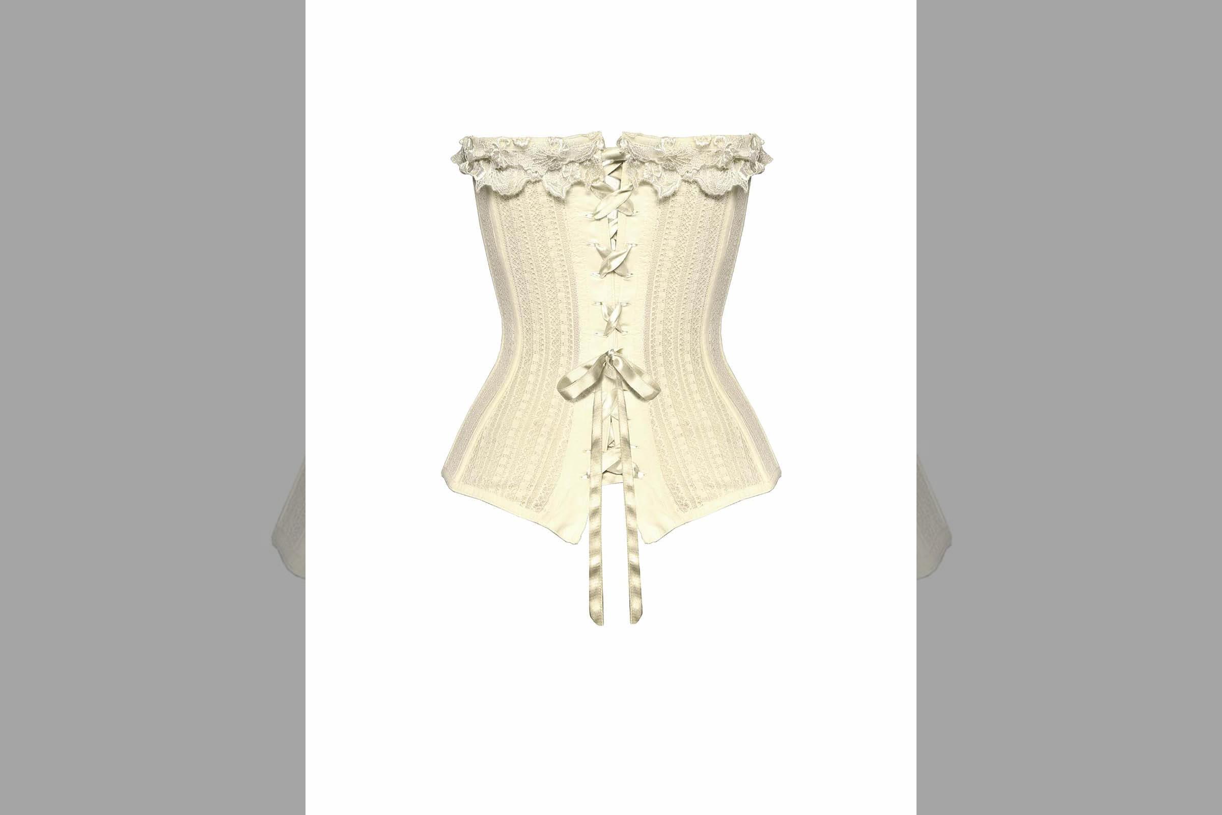 Bridebook.co.uk la perla bustier
