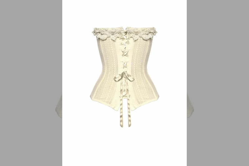 Bridebook.co.uk la perla bustier