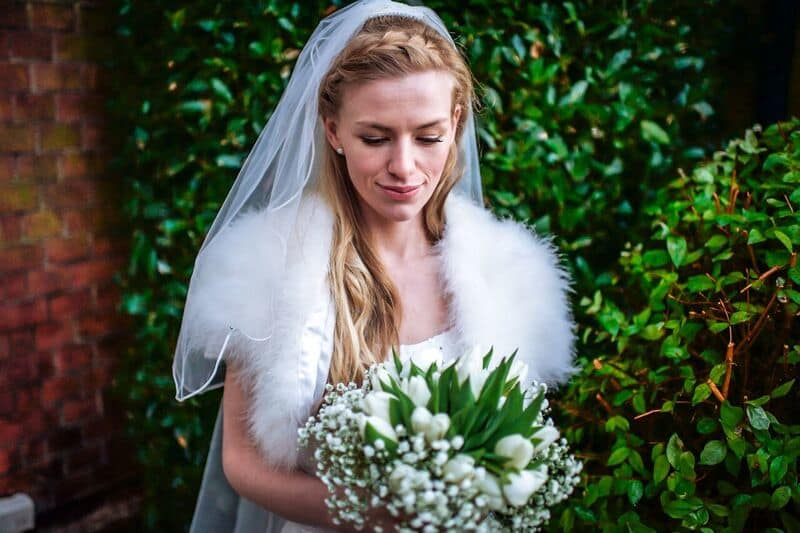 South East | Norfolk | Norwich | Winter | Natural | Rustic | Blue | Red | Historic Buillding | Real Wedding | Hajley Photography #Bridebook #RealWedding #WeddingIdeas Bridebook.co.uk