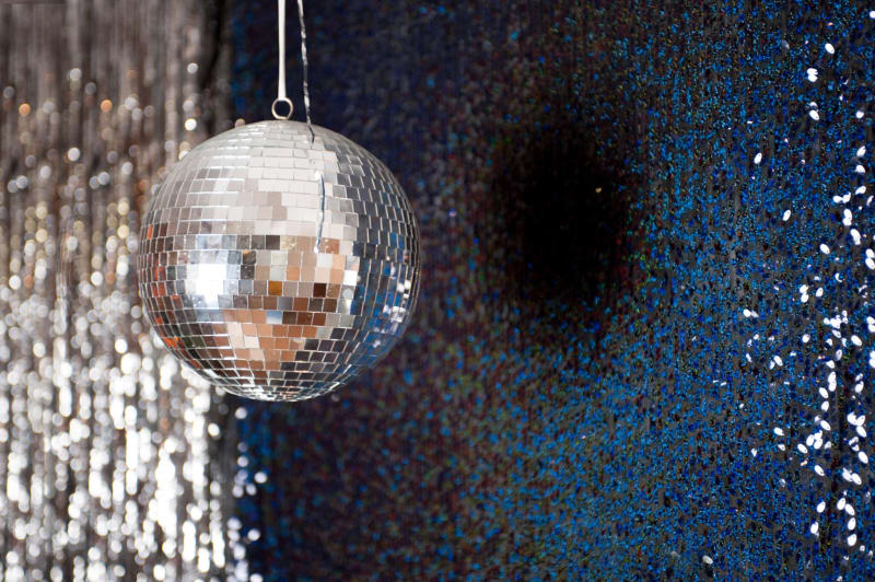 Bridebook.co.uk disco ball