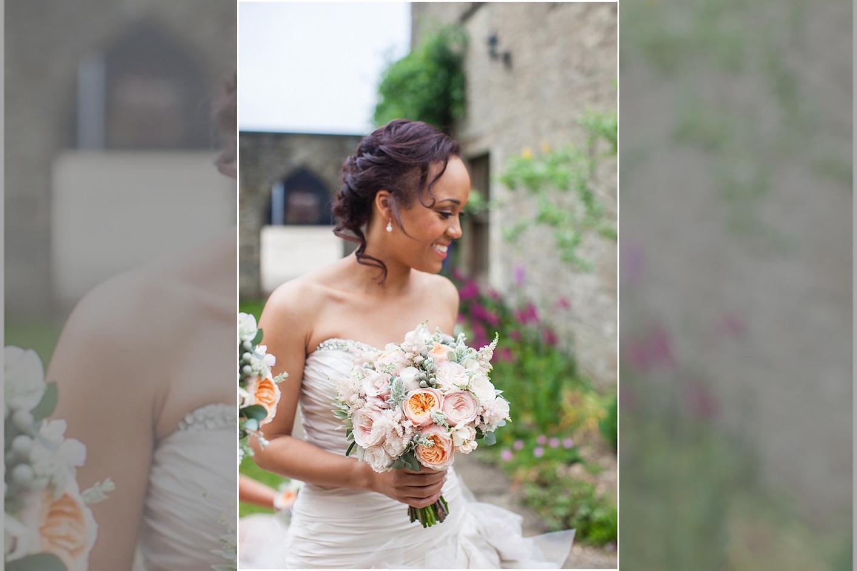 Bridebook.co.uk beautiful bride holding bouquet