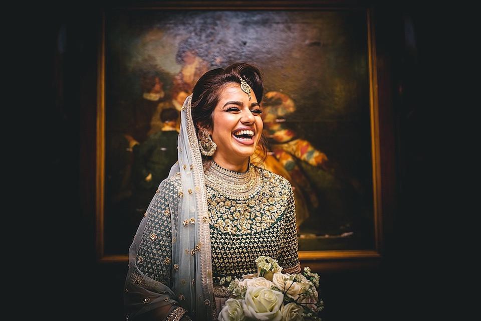 Bridebook.co.uk gorgeous laughing bride