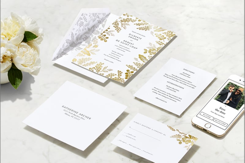 Bridebook.co.uk Paperless Post Online Wedding Invitations