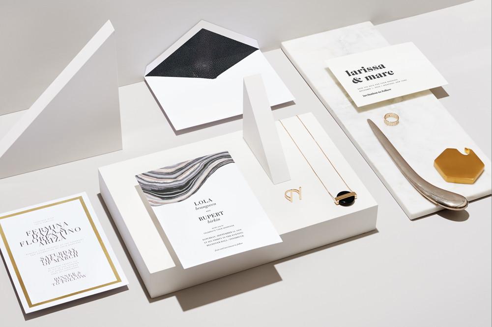 bridebook.co.uk paperless post modern style wedding invitations
