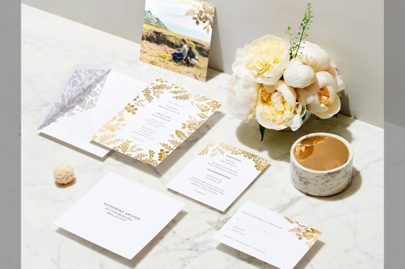 Bridebook.co.uk Paperless Post Wedding Suites