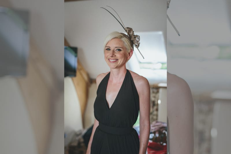 South West | Devon | Hittisleigh | Spring | Boho | DIY | Outdoor | White | Orange | Barn | Real Wedding | Helen Lisk Photography #Bridebook #RealWedding #WeddingIdeas Bridebook.co.uk