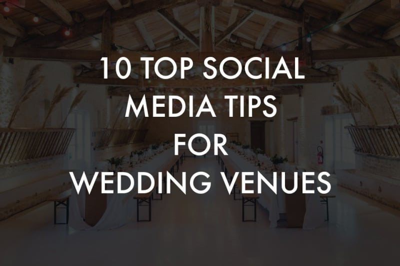 Now She Shares Her Top Tips For Winning In Social Media Marketing And Boosting The Awareness Of Your Wedding Venue Below