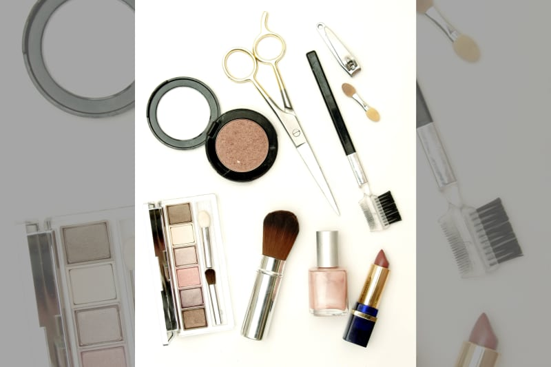 Bridebook.co.uk bride's make-up bag