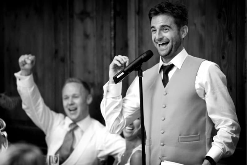 Bridebook.co.uk- best man speech usher cheering
