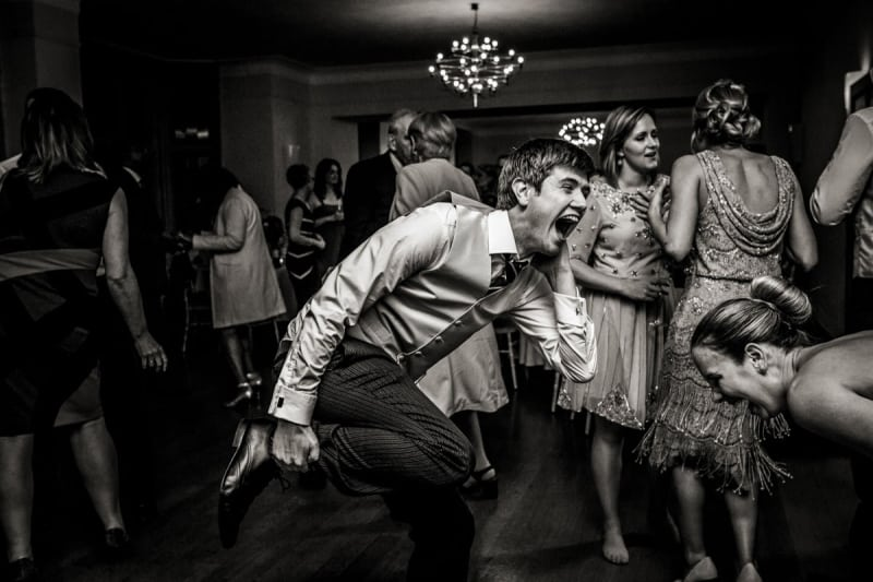 Bridebook.co.uk- best man having fun dancing