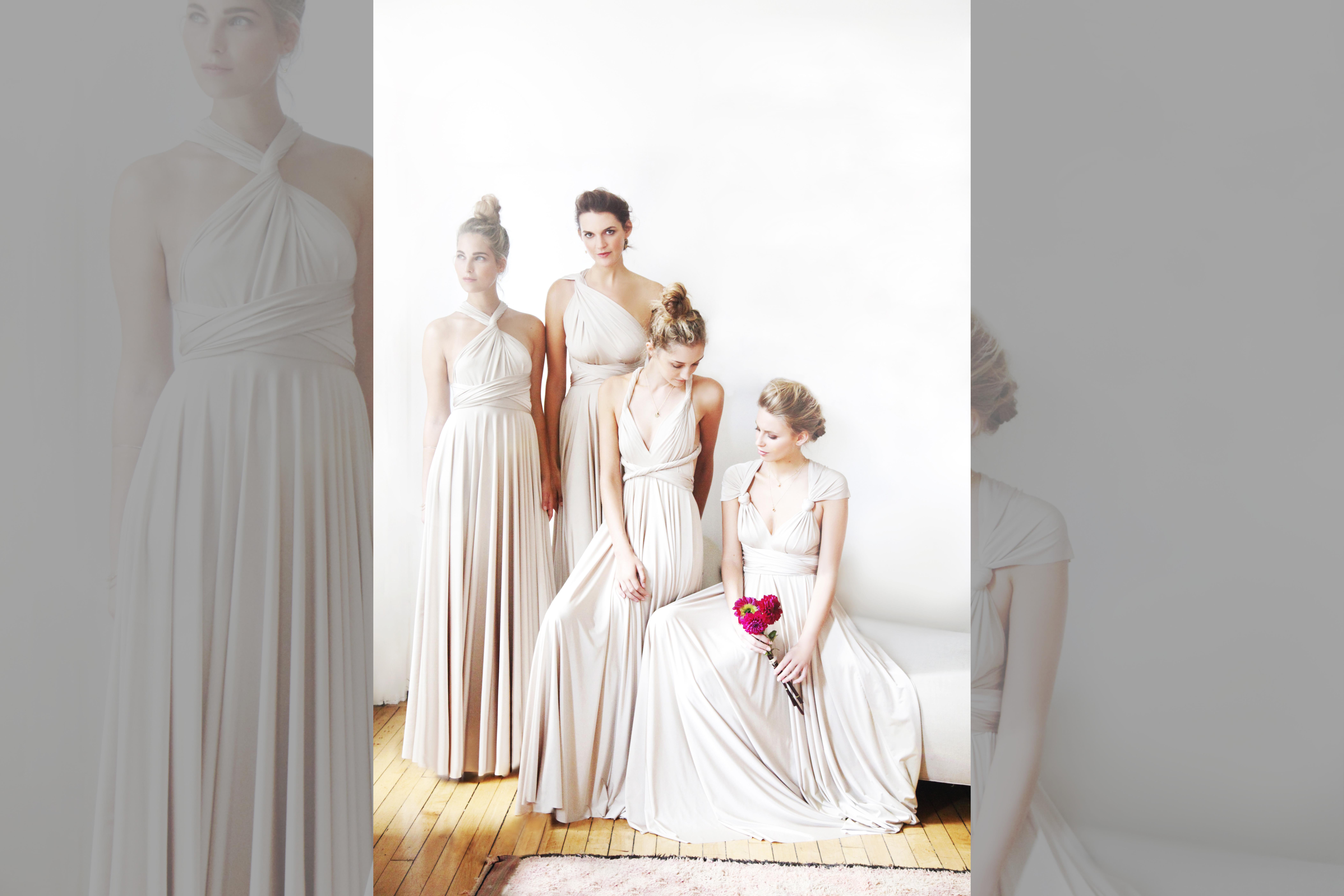 bridebook.co.uk twobirds champagne dresses