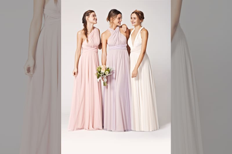 bridebook.co.uk-twobirds multiple dress colours