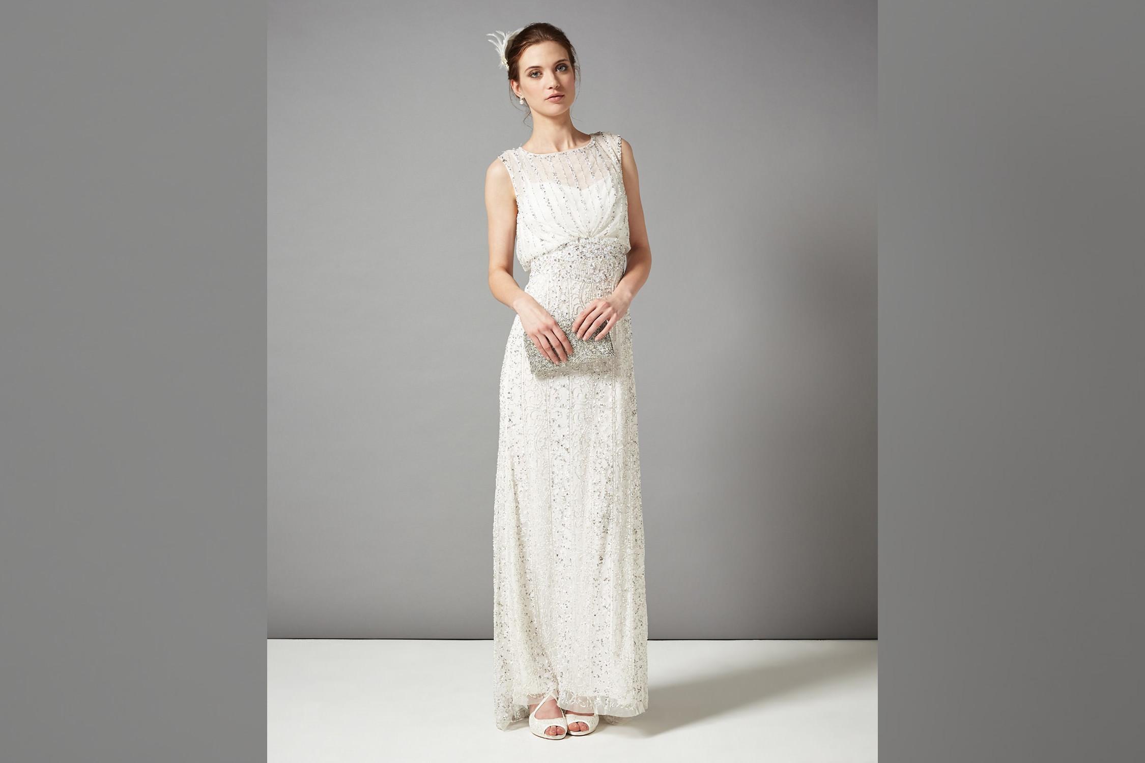 Bridebook.co.uk- model wearing debenhams