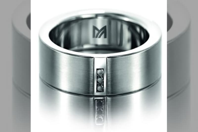 Bridebook.co.uk - mens wedding ring with diamonds