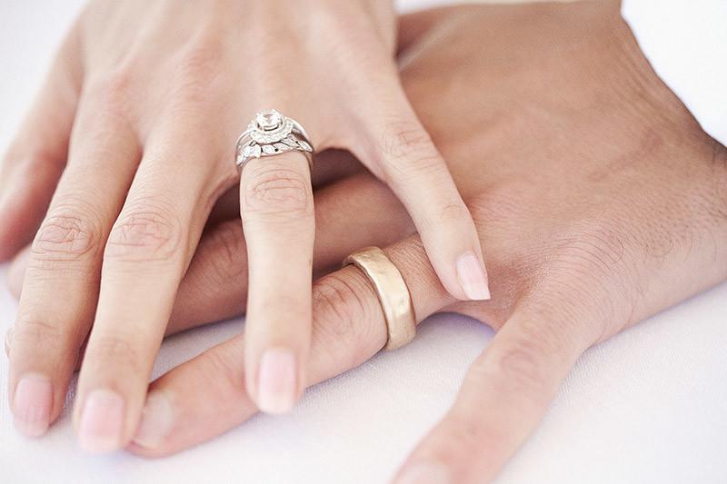 Bridebook.co.uk- bride and groom wedding rings close up