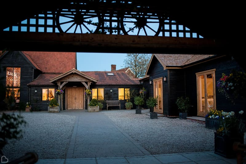Maidens Barn wedding venue