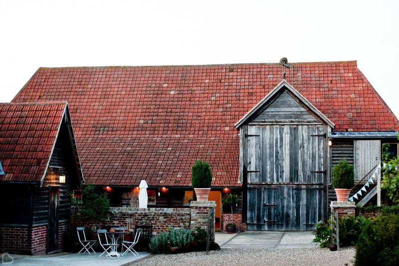 moreves barn wedding venue in essex