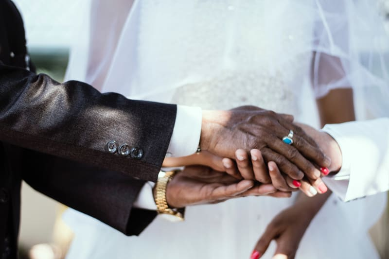 black-african-wedding