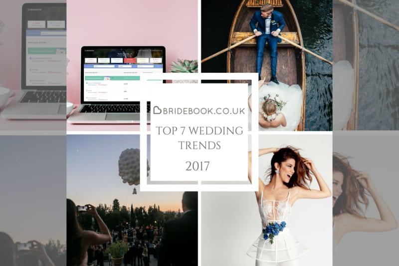 Bridebook.co.uk wedding trends 2017
