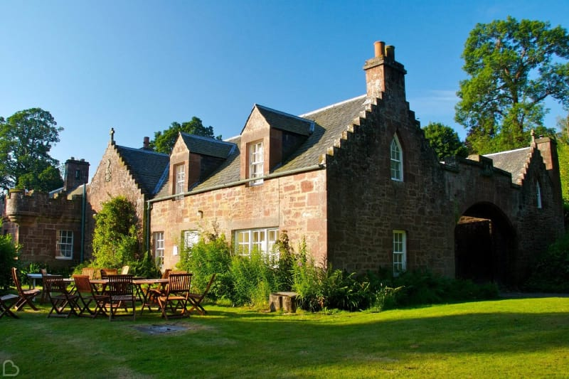 fingask castle wedding venue in uk