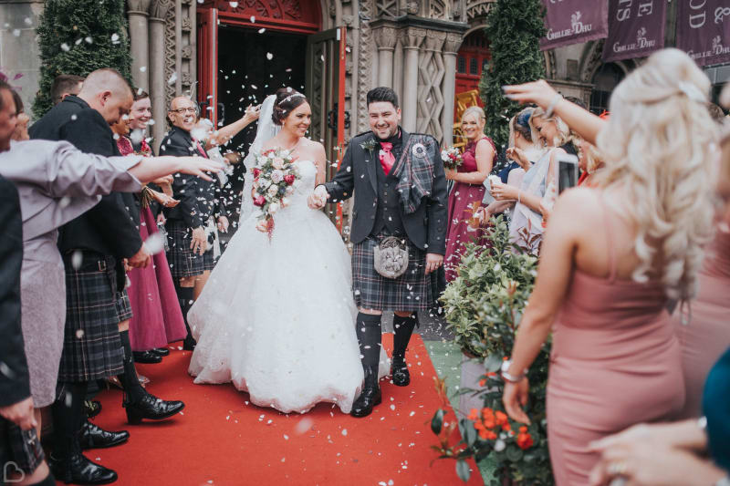 guillie dhu wedding venue in edinburgh