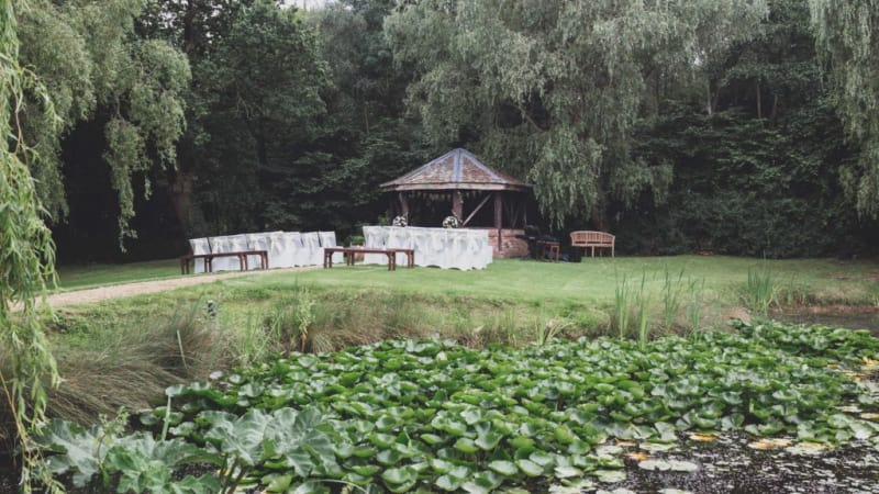 manley mere swamp and gazebo