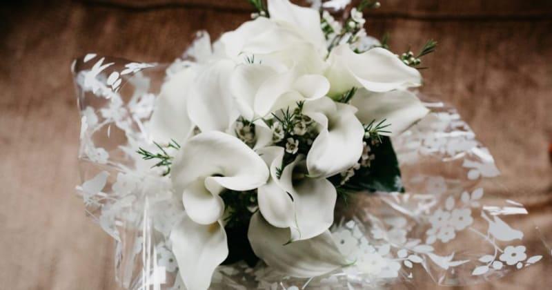 White flowered bouquet