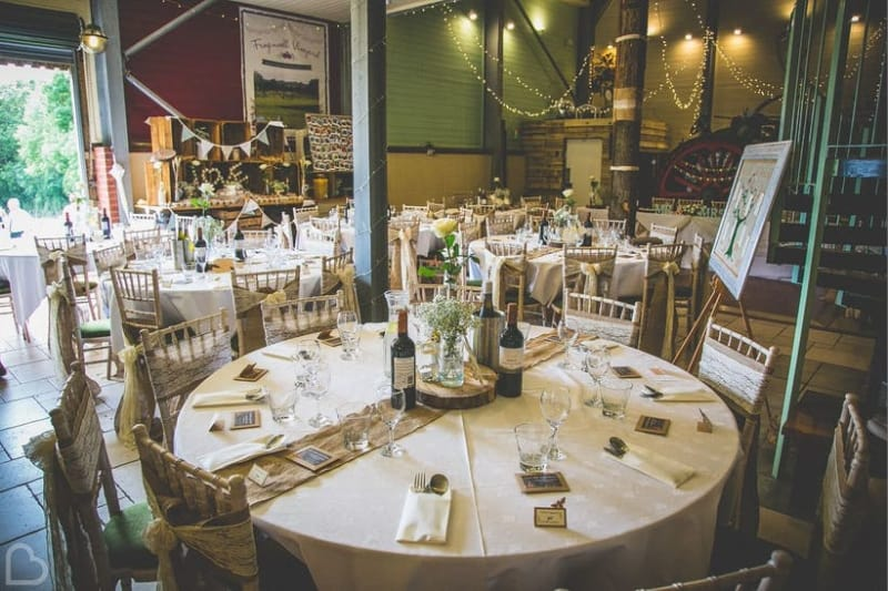 Bridebook.co.uk Froginwell Vineyard