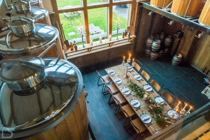 Three Daggers Microbrewery an intimate wedding venue in the uk