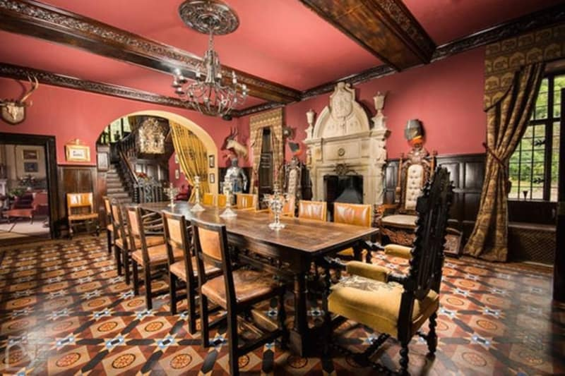 Trevor Hall dining room